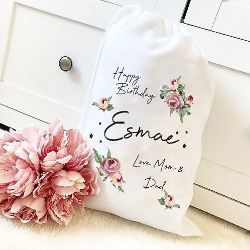 Personalised BIRTHDAY Bag