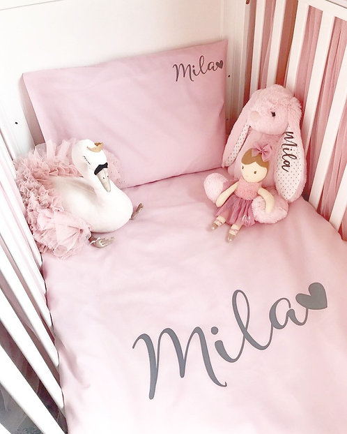 Personalised Bed Sets - PINK
