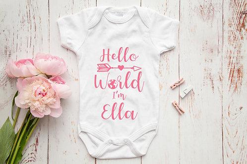 Hello World I'm...