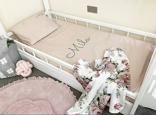 Personalised Bed Sets - Single -PINK