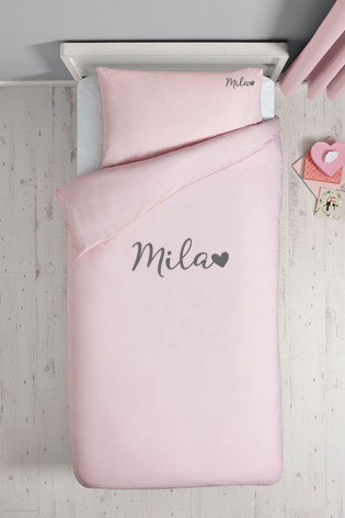Personalised Bed Sets - Toddler -PINK