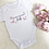 Thumbnail: Butterfly Personalised Baby Vest