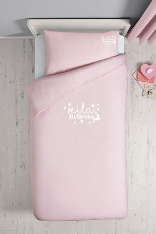 Christmas Personalised Bed Sets - Single