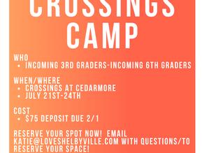 Crossings Kids Camp
