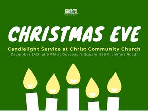Christmas Eve Service - Thursday the 24th