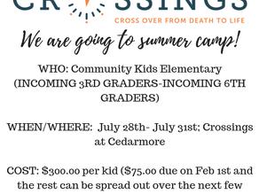 G2 Community Kids Summer Camp