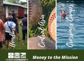 """Money to the Mission"" Offering"