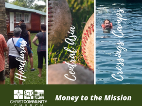 """""""Money to the Mission"""" Offering"""