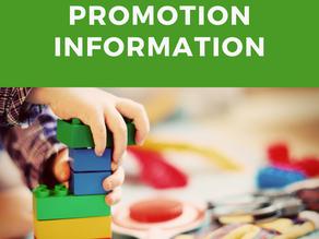 Promotion Information for Community Kids!