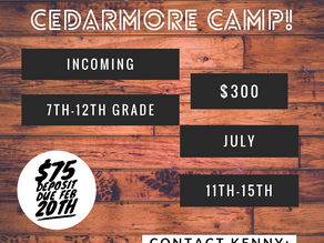 Crossings Camp for Students!