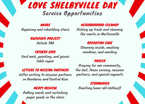 Love Shelbyville Day is Back!