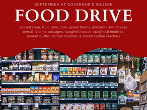 September Food Drive