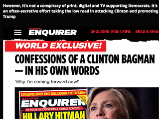 As We Warned: National Enquirer Colluded With Trump To Sway Election