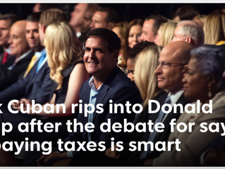 "POLL: TRUMP'S ""SMART"" CAPITALISM VS MARK CUBAN'S CITIZENSHIP PLEDGE - U DECIDE"