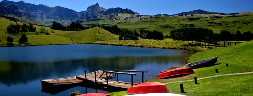 Into the Drakensberg Mountains