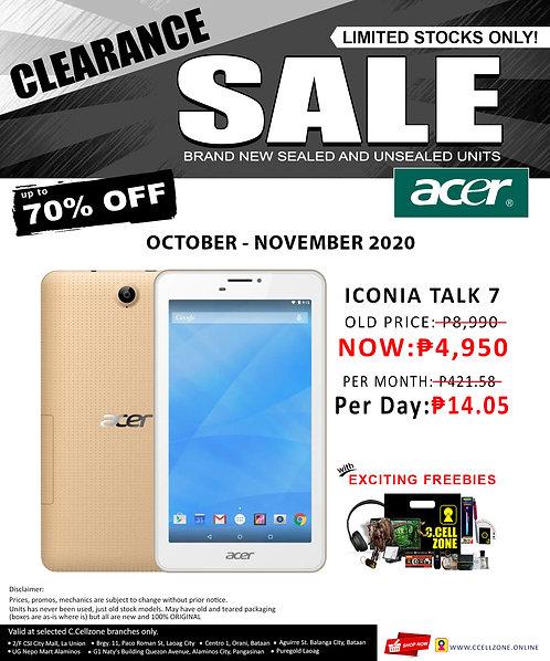 Acer Iconia Talk 7 16GB (BI- 723)