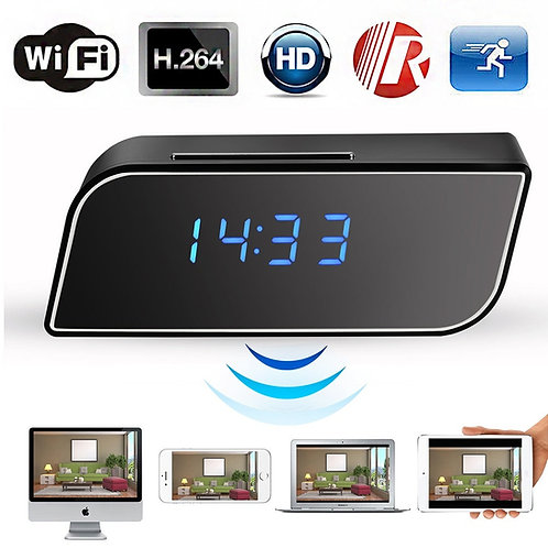 HD DIGITAL CLOCK SPY CAMERA