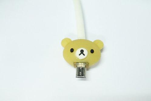 DATA CABLE W/ CARTOON MICRO USB