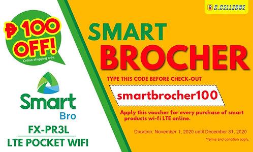 pocket wifi smartbro LTE (FX-PR3L)