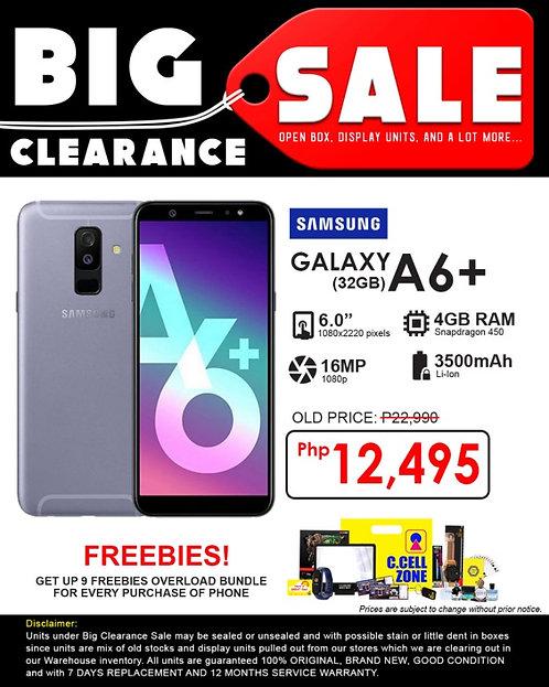 Samsung galaxy A6+ 2018 32gb