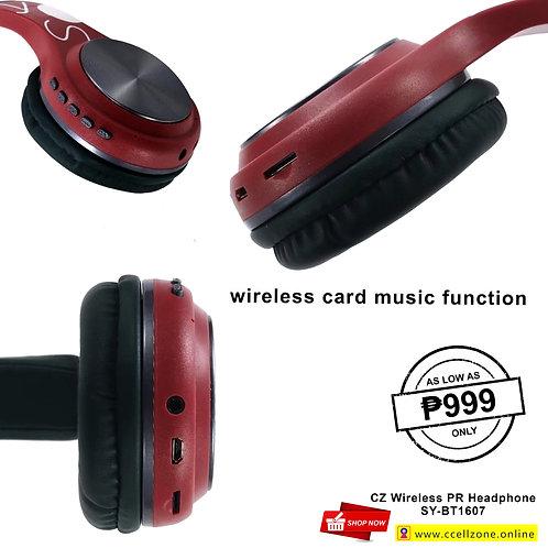 CZ WIRELESS PR HEADPHONE SY-BT1607