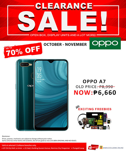 Oppo A7 3GB/64GB