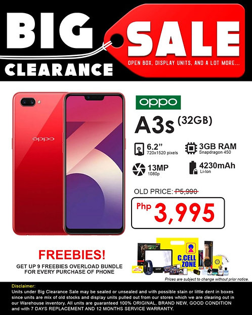 OPPO A3S 32GB (1803)