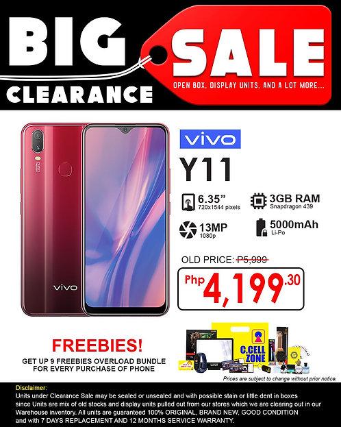 Vivo Y11 5000mAh 3GB+32GB (Clearance Sale)