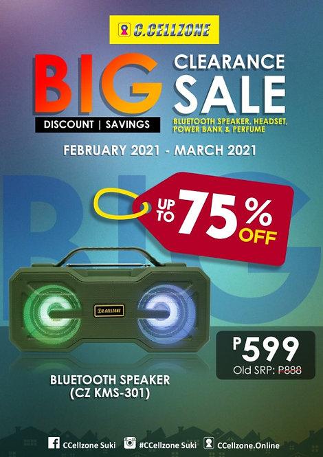 Bluetooth Speaker CZ KMS-301(BTS CZ KMS 301 C1219)