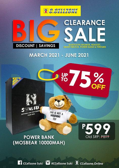 CZ Power Bank MosBear 10000mah