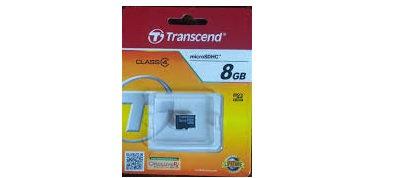 Transcend 8GB 300s