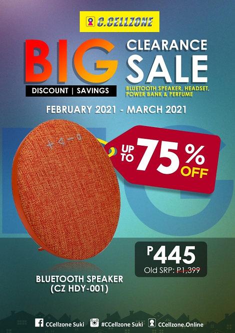 Bluetooth Speaker HDY-001(BTS TRS CZ HDY-001 C1017)