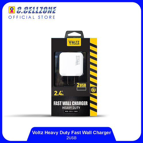 Voltz 2 USB Charger with Type C Cable