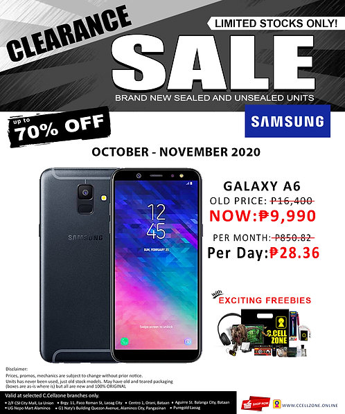 Samsung Galaxy A6 (2018) 3GB/32GB