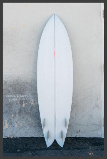 CHRISTENSON SURFBOARD NAUTIALUS