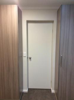 New door between cupboards