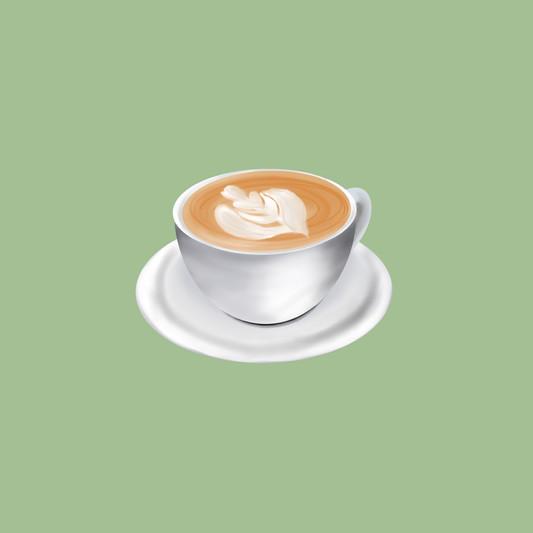 Illustration cappuccino