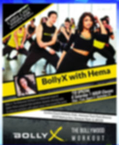 Fitness Flyer Vida Fitness Bolly X 2019_