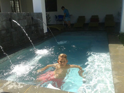CHILDREN LOVE OUR POOL
