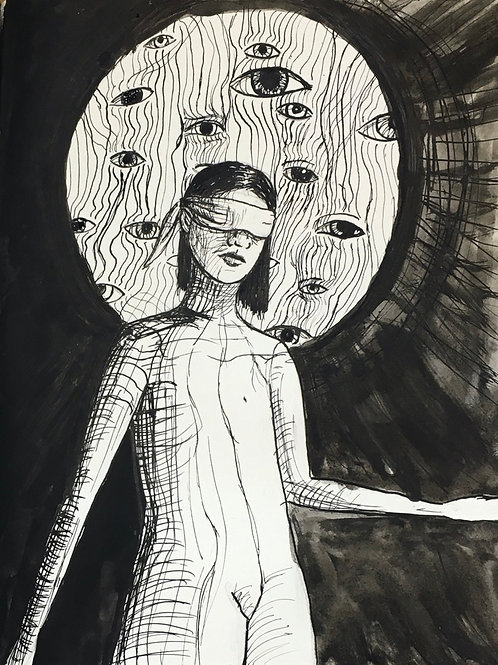 Untitled Ink drawing