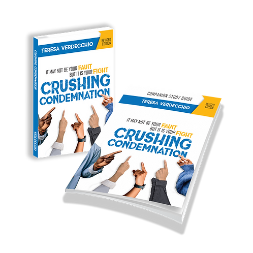 Crushing Condemnation - Book and Companion Study Guide Combo
