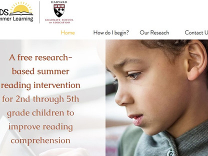 Check out our new READS for Summer Learning Site!