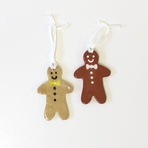 Gingerbread men - Tree decorations