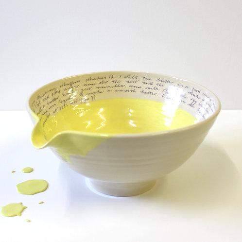 Large Bowl - Lemon Yellow