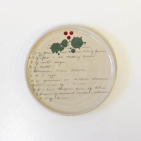 Side Plate: Christmas Cake
