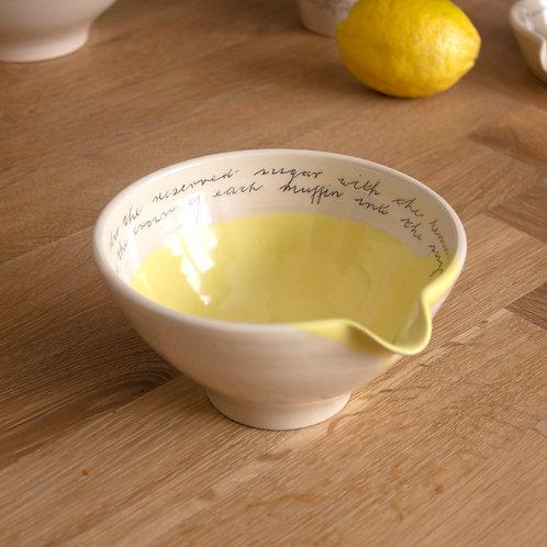 Small Bowl - Lemon Yellow