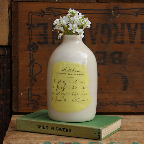 Milk Bottle (Yellow)