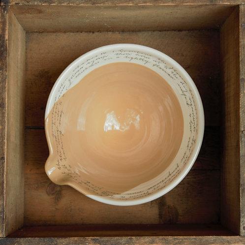 Medium Bowl - Gingerbread