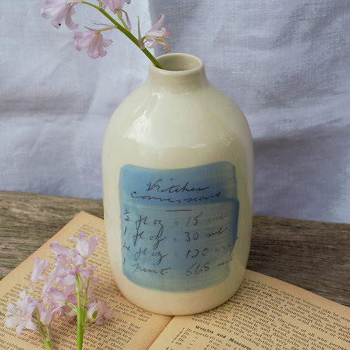 Milk Bottle (Blue)
