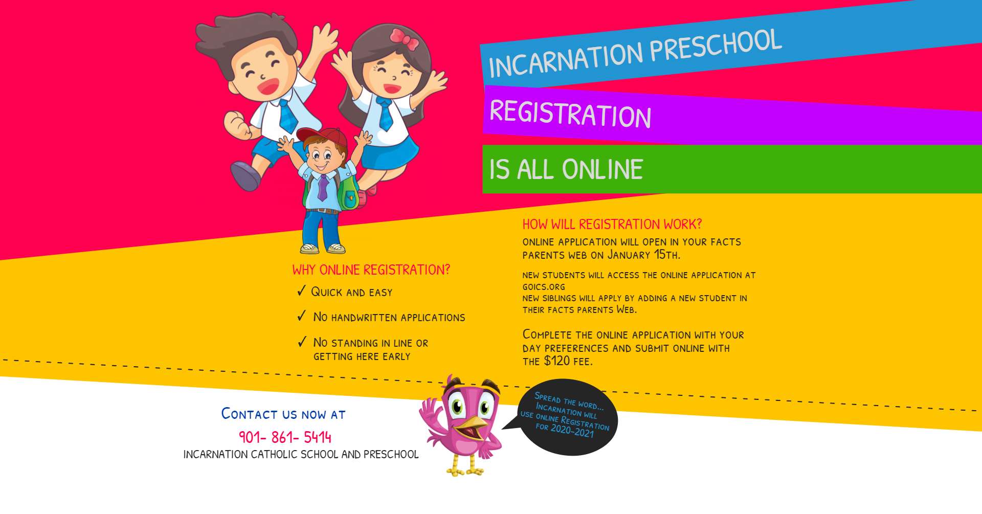 Copy of Copy of School Admission Flyer -